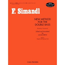 Carl Fischer New Method for the Double Bass Book 1