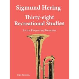 Carl Fischer Hering-Thirty-Eight Recreational Studies -Trumpet