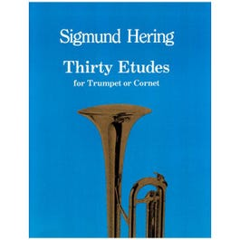 Image for Thirty Etudes for Trumpet or Cornet from SamAsh