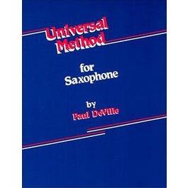 Carl Fischer DeVille Universal Method for Saxophone