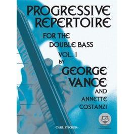 Carl Fischer Progressive Repertoire for the Double Bass - Vol. 1-Book +MP3