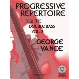 Carl Fischer Progressive Repertoire for the Double Bass - Vol. 2 -Book & Download