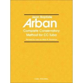 Carl Fischer Arban's Complete Conservatory Method for Tuba -(New Authentic Edition)