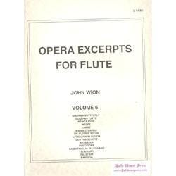 Image for Opera Excerpts for Flute Vol 6 from SamAsh
