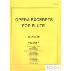 Image for Opera Excerpts for Flute Vol 7 from SamAsh