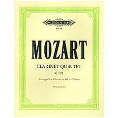 Image for Mozart Clarinet Quintet K. 581 from SamAsh