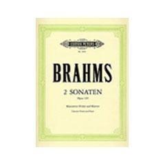 Image for Brahms Clarinet Sonatas from SamAsh