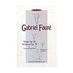 Image for Faure Elegie; Sicilienne from SamAsh