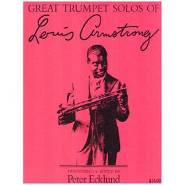 Image for Louis Armstrong's Great Trumpet Solos from SamAsh