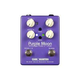 Carl Martin Purple Moon Vintage Fuzz 'n' Vibe Guitar Effects Pedal