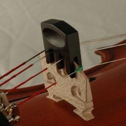 Image for Ebony Violin Mute from SamAsh
