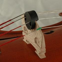 Image for Tourte Style Round Violin Mute from SamAsh