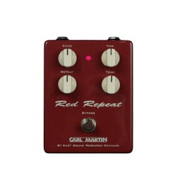 Carl Martin Red Repeat Vintage Style Delay Pedal