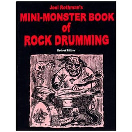 Image for Joel Rothman The Mini Monster Book of Rock Drumming from SamAsh