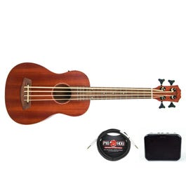 Image for UKB 325 Acoustic-Electric Bass Ukulele w/ Amp and Cable from SamAsh