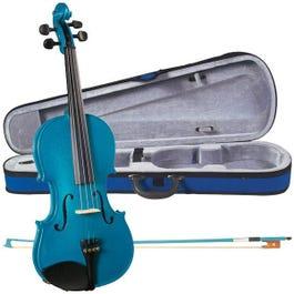 Image for SV75 Novice Sparkling Blue Violin Outfit from SamAsh