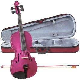 Image for SV75 Novice Sparkling Rose Violin Outfit from SamAsh