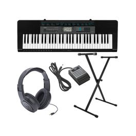 Image for CTK2550 Complete Package with Keyboard, Stand, Sustain Pedal, and Headphones from SamAsh