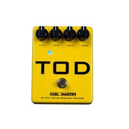 Carl Martin TOD High-Gain Overdrive Guitar Effects Pedal