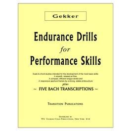 Charles Colin Gekker-Endurance Drills for Performance Skills
