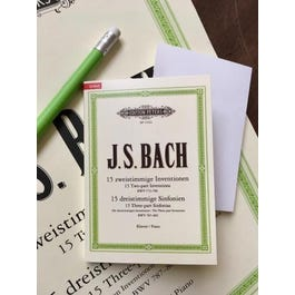CF Peters Bach -Sticky Notes ( Post Its )