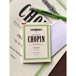 CF Peters Chopin- Sticky Notes ( Post Its )