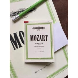 CF Peters Mozart- Sticky Notes ( Post Its )