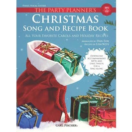 Image for The Party Planner's Christmas Song and Recipe Book from SamAsh