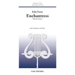 Carl Fischer Enchantress-Alto Saxophone with Piano