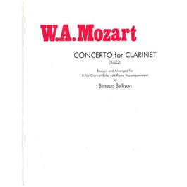 Image for Mozart Concerto for Clarinet (K622) from SamAsh