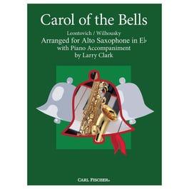 Carl Fischer Clark-Carol of the Bells-Alto Saxophone with Piano