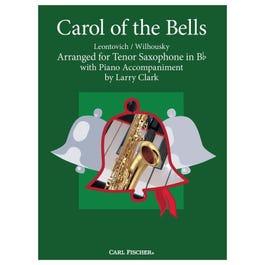 Carl Fischer Clark-Carol of the Bells-Tenor Saxophone with Piano
