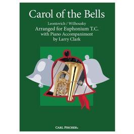 Carl Fischer Clark-Carol of the Bells-Euphonium with Piano