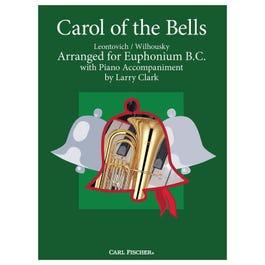 Carl Fischer Clark-Carol of the Bells -Euphonium with Piano