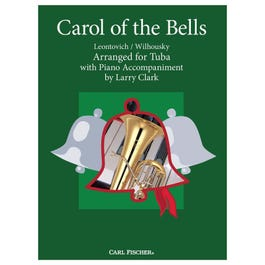 Carl Fischer Clark-Carol of the Bells-Tuba with Piano