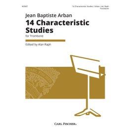 Carl Fischer 14 Characteristic Studies for Trombone