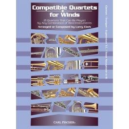 Image for Compatible Quartets for Winds 21 Quartets -Clarinet