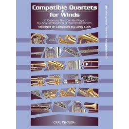 Image for Compatible Quartets for Winds 21 Quartets -Alto Saxophone