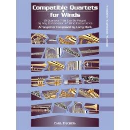 Image for Compatible Quartets for Winds 21 Quartets -Trombone