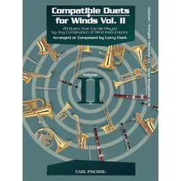 Carl Fischer Compatible Duets for Winds Volume II -CL/TP