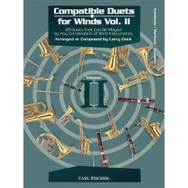 Carl Fischer Compatible Duets for Winds Volume II -Trombone, Bassoon, Euphonium