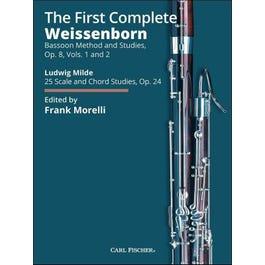 Carl Fischer Weissenborn-The First Complete Weissenborn Op 8 #1 & #2- Spiral Bound Edition (Morelli)-BSN