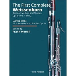Carl Fischer The First Complete Weissenborn Method and Studies