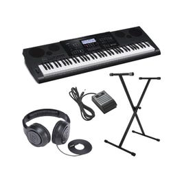 Image for CWK7600 4 pc Ultra-Premium Keyboard Package With Headphones, Stand, and Sustain Pedal from SamAsh