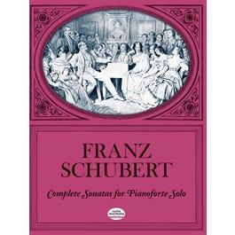 Dover Publications Schubert-Sonatas (Complete)For Piano Solo
