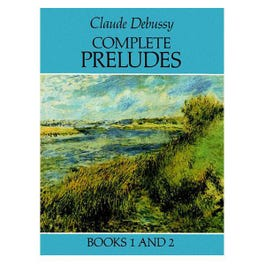 Image for Debussy Complete Preludes Books 1 and 2 from SamAsh