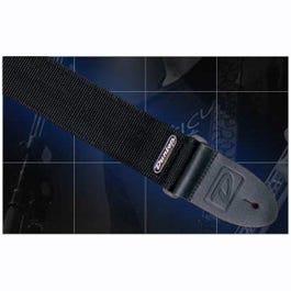 Image for D3809BK Solid Black Guitar Strap from SamAsh