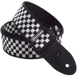 Image for D3831BK B&W Check Guitar Strap from SamAsh