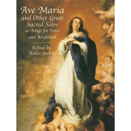 Alfred Ave Maria and Other Great Sacred Solos: 41 Songs for Voice and Keyboard
