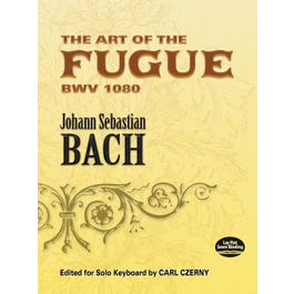 Alfred The Art of the Fugue BWV 1080-Bach for Piano